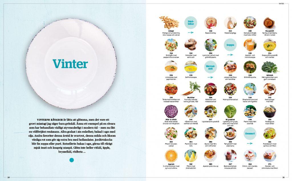 Fyra årstider i vegoköket - recept