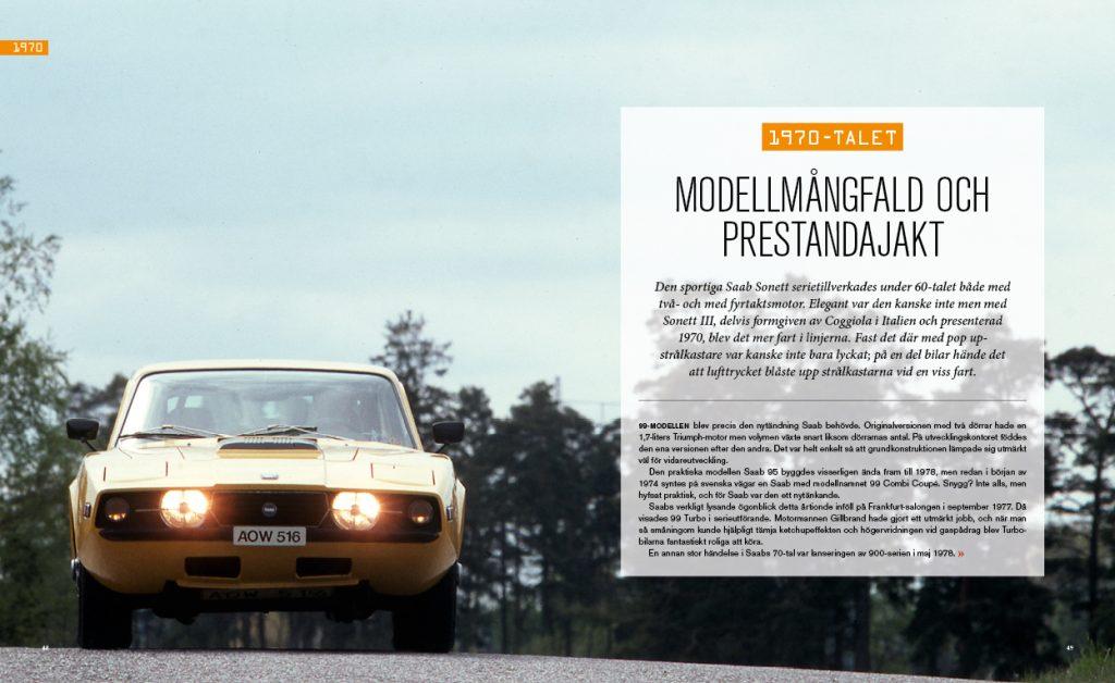 Stora boken om Saab - inlaga