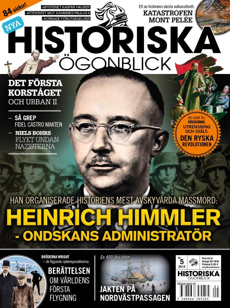 Historiska Ögonblick - Omslag