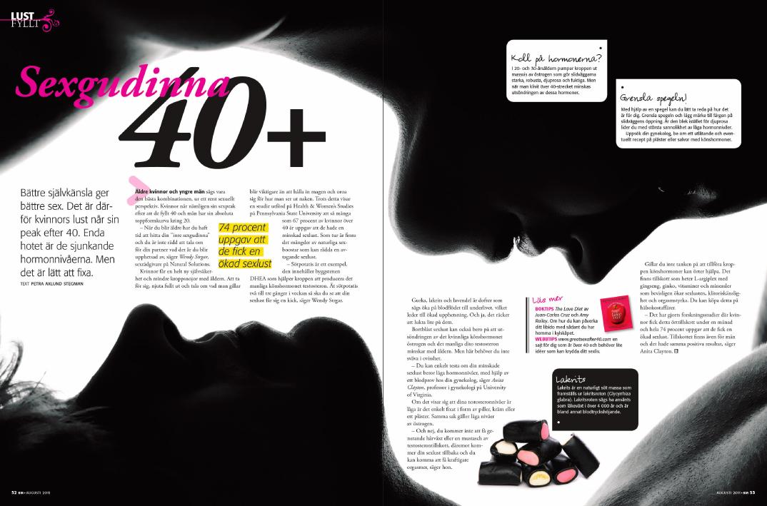 Blossom Magazine - inlaga