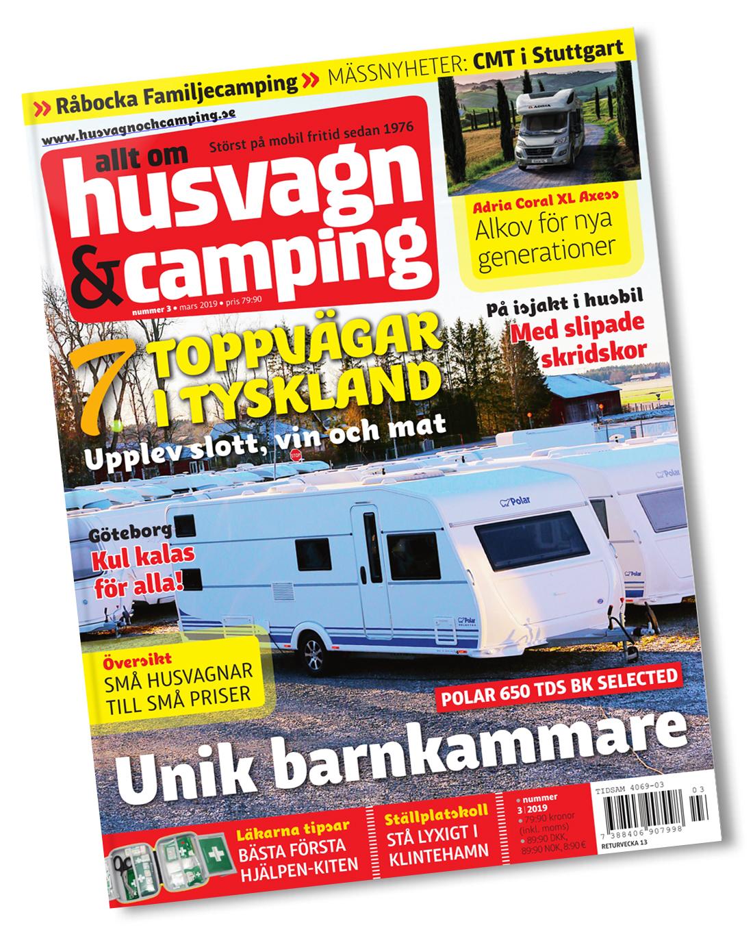 Husvagn & Camping - Omslag