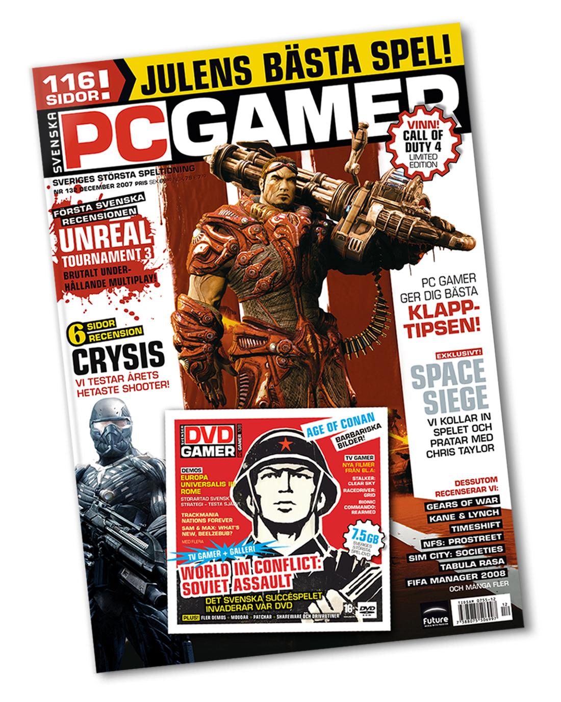 PC Gamer - Omslag