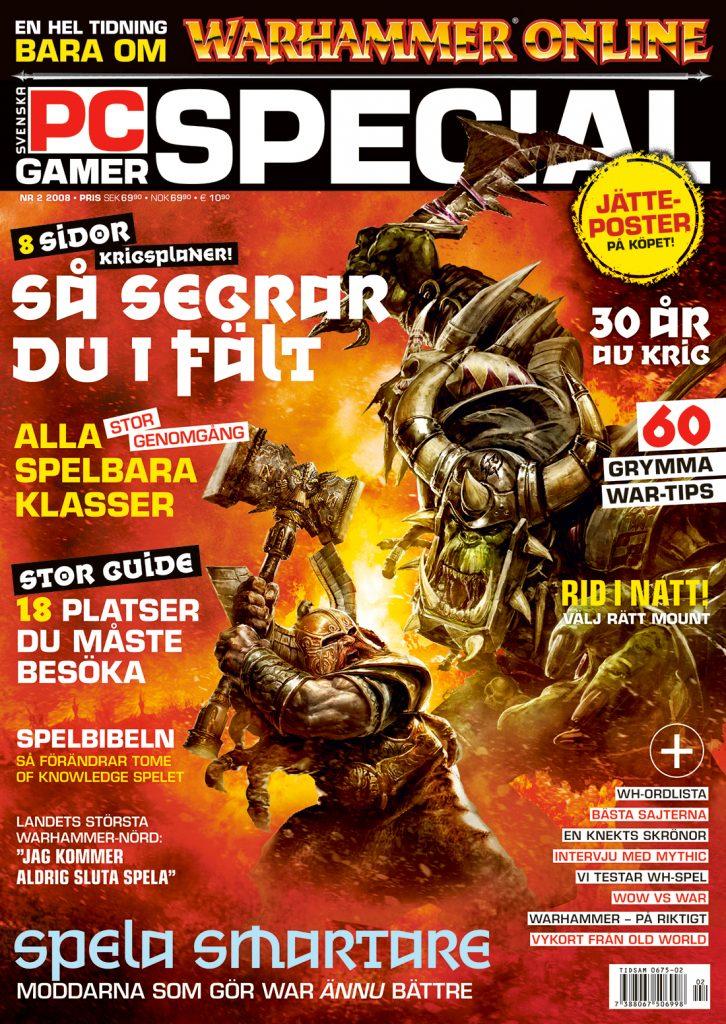 PC Gamer - specialutgåva om Warhammer